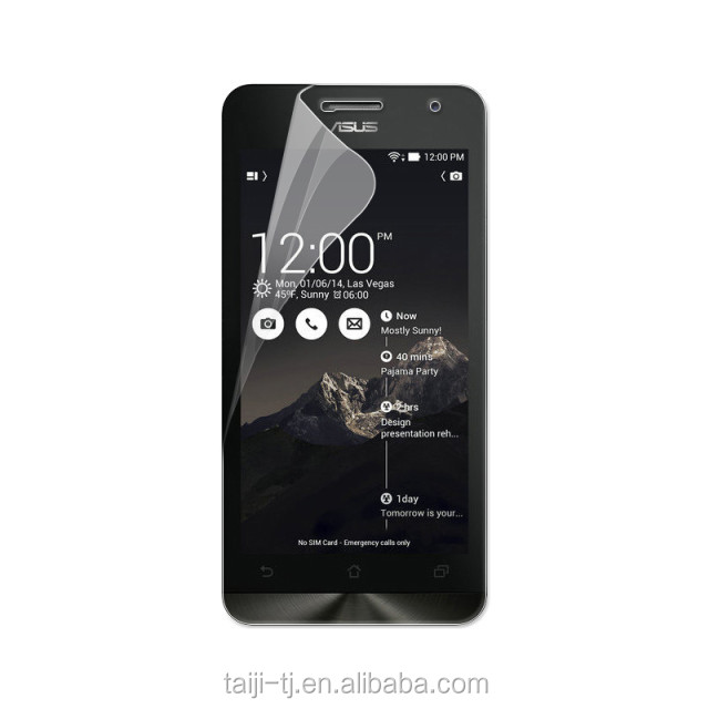 Clear Anti-Scratch Plastic Screen Protector For Asus Zenfone 5