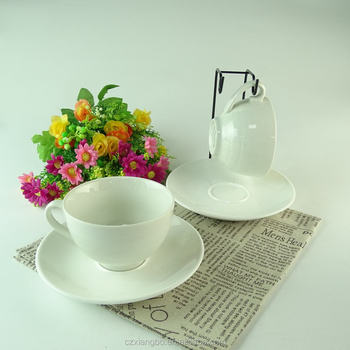 2 Sets Cheap Wholesale Bulk China White Porcelain Tea Cups And ...
