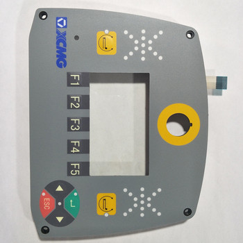 OEM Service ISO9001 FR4 Osp No Halogen Control Panel With Membrane Switch Keyboard