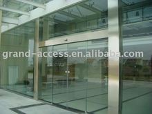 Glass Automatic Sliding Door with IR detectors