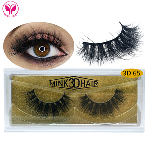 wholesale private label individual false mink lashes 3d knot free natural mink hair eyelashes indonesia