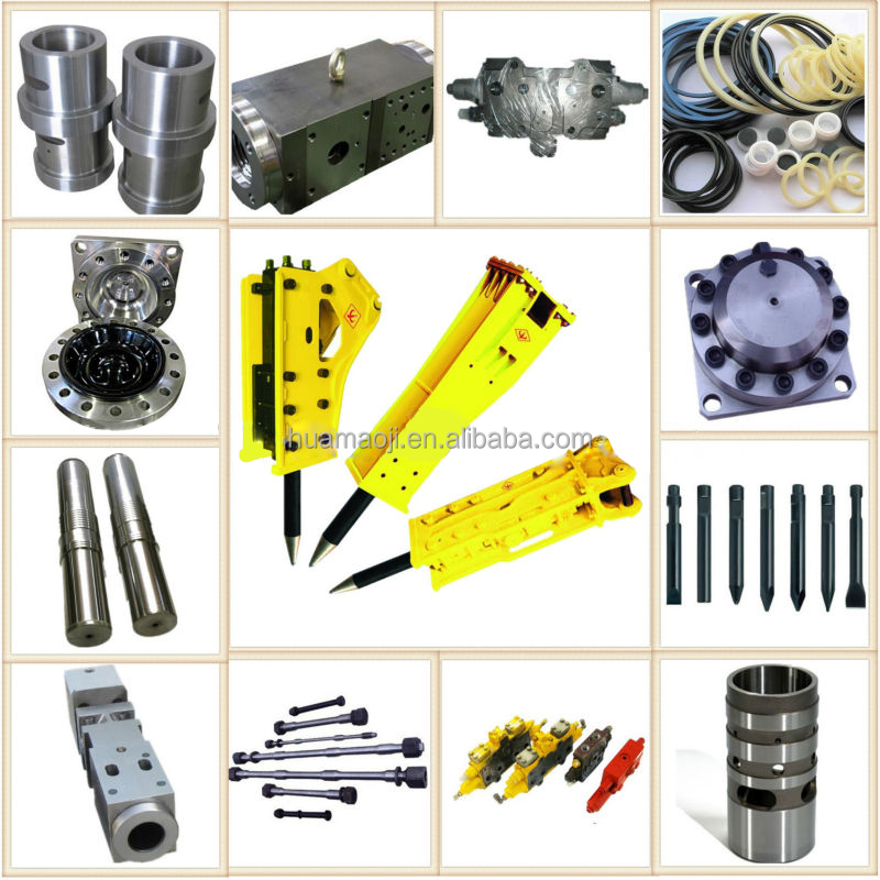 Skid Steer Loader Attachment Hydraulic Rock Hammer Chisel For Sale ...