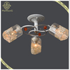 2017 Fancy European Modern Simple Glass Ceiling Lamp Home Decorative Crystal Lamp