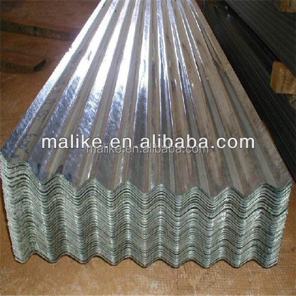 0.13-0.8MM 16-18mm wave height corrugated steel roofing sheet