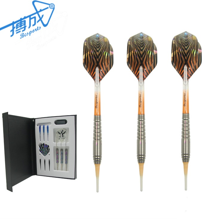 Custom made quality soft tip tungsten darts barrel