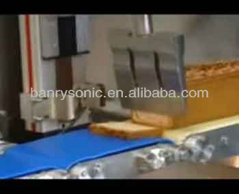 ultrasonic cutting machine for frozen seafood cutter slicer cheese knife blade