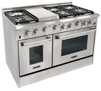 4 Burner Lebih The Jarak Microwave Kompor Gas Dengan Panggangan Dan Oven