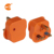 PC orange color uk13 amp fused plug with indicator