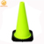 28 inches PVC traffic safety cone with black interlock base