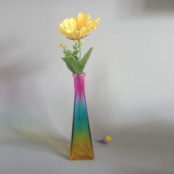 cheap tall flower glass vases small mouth long neck glass vase for one flower arrangement & Cheap Tall Flower Glass Vases Small Mouth Long Neck Glass Vase For ...