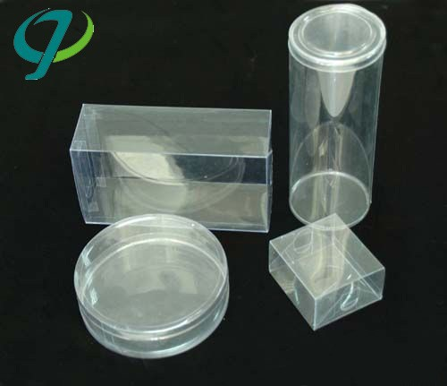 custom recyclable plastic pvc/pet/pp Clear PVC plastic container
