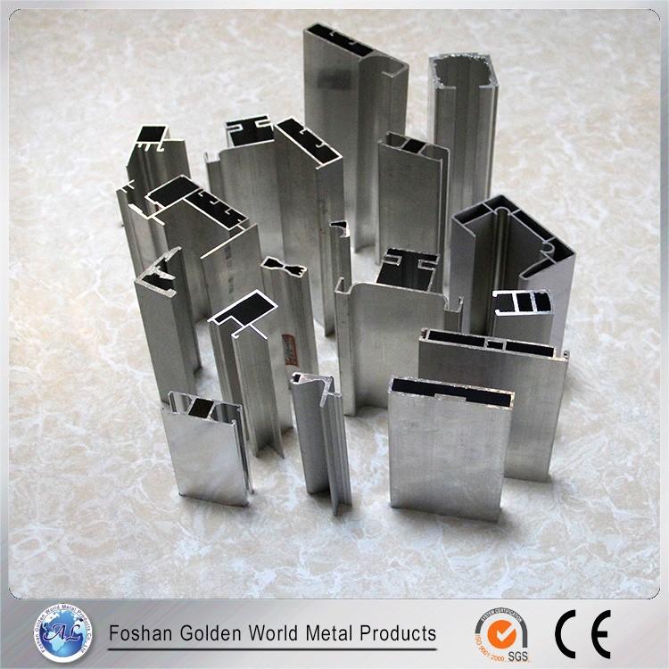 Foshan Manufacturer Different Shape Extruded Aluminum