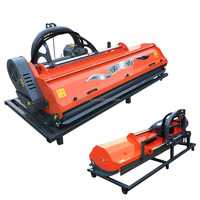 mateng new orange zero turn flail mower with cylinder