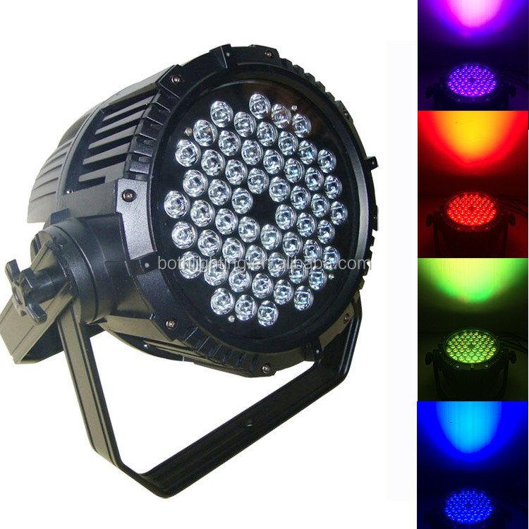 2016 Outdoor Led Color Stage Lights Ip65 Par Can Light 54x3w Rgb 3 ...