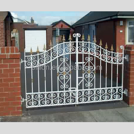 2015 China Factory Steel Pipe Gate Design Buy Steel Pipe