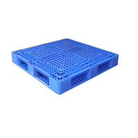 High Quality anti-slip stackable single sides HDPE plastic pallet for sale