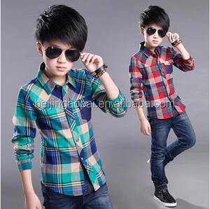 hot sale cotton clothing children shirt