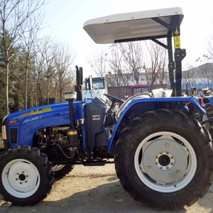 Lutong small 50hp 4WD farming tractor with A/C in Romania