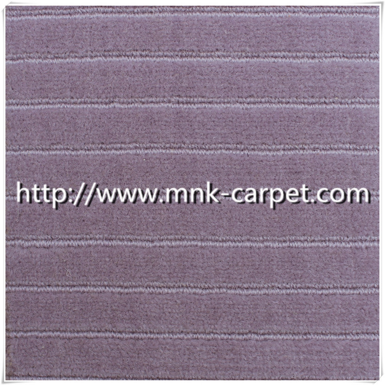 High cut and low loop wilton carpet wool rug