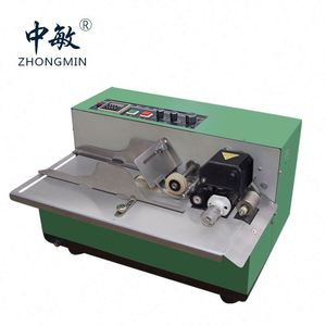 Single Color Color&Page letterpress Plate Type Synchronize Expiry Date Coding Machine Hot Ink Roller Printer