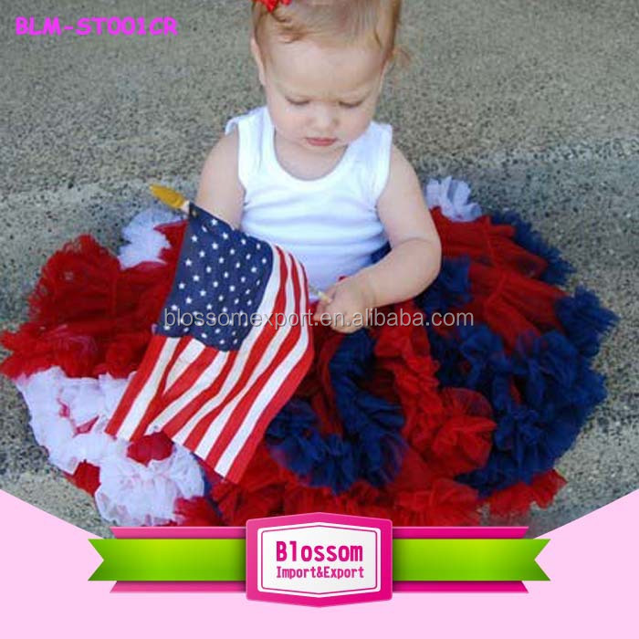2018 Spring /Summer Little Girls Boutique Remake Clothing Sets Kids 4th of July Patriotic Baby Outfit