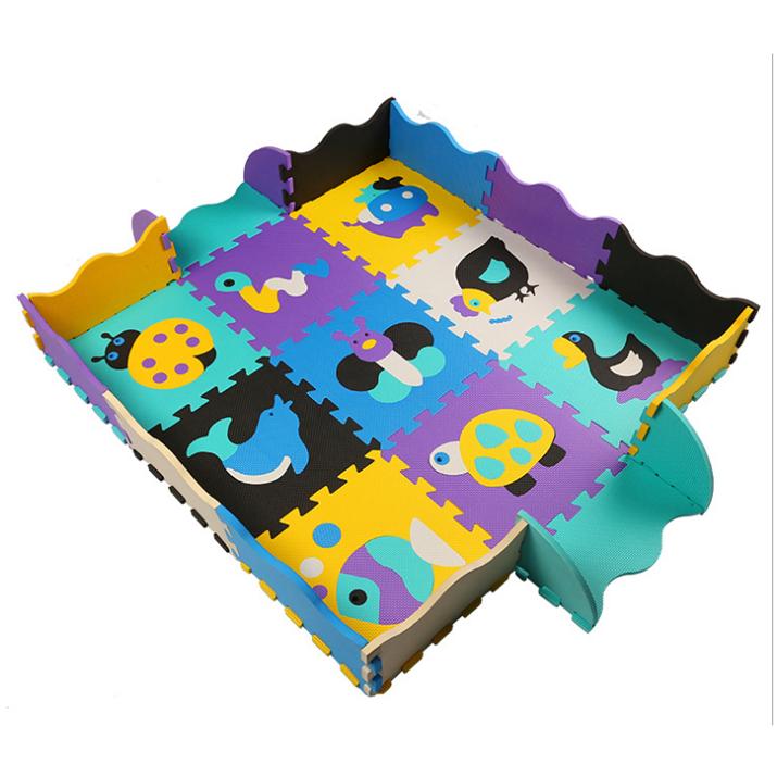Baby Play Mat Gym 9//16 Tiles Kids Soft Interlocking Foam Floor Puzzle Playmat