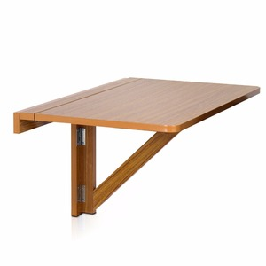 Stylish design Height adjustable wooden Wall-Mounted Drop-Leaf Folding Table