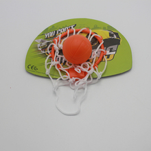 Plastic mini basketball game toy