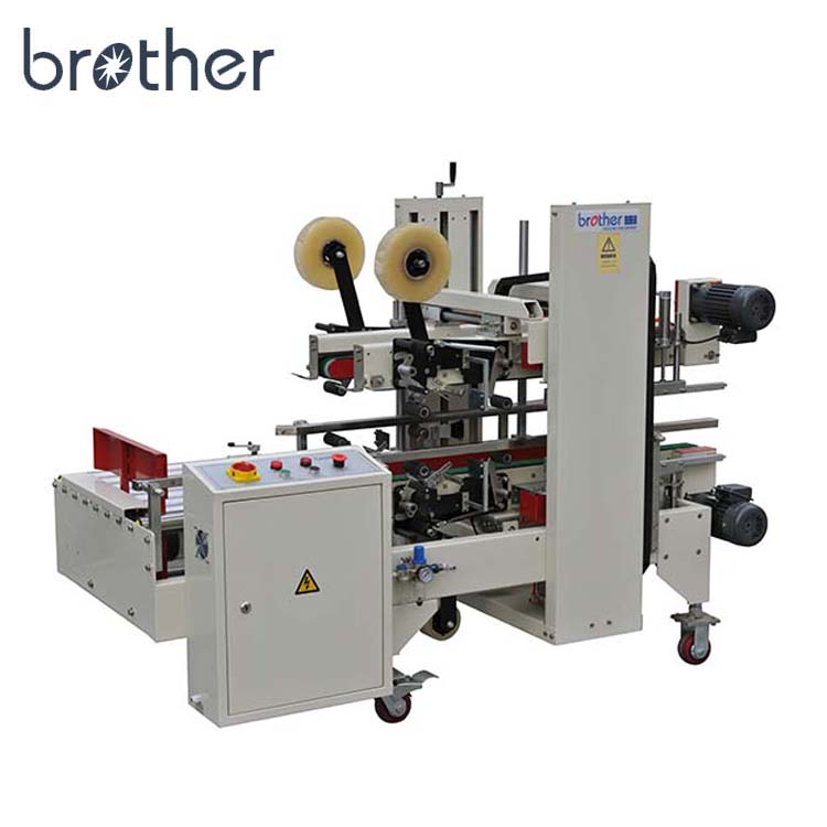 Brother verpakking AS723 Semi-automatische plakband Carton Doos Hoek Sealer machine