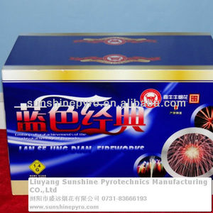 good quality consume cakes fireworks for new year color box pack