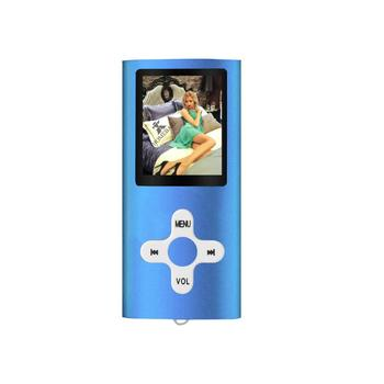 New Metal 4th MP4 Player 1.8 Inch LCD Support 64GB Memory Screen Portable FM Radio Music MP3 Video Player PK 3th 4th MP4