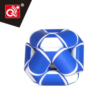 QIYI ruler puzzle flexible twist diy plastic magic cube snake with 24 parts