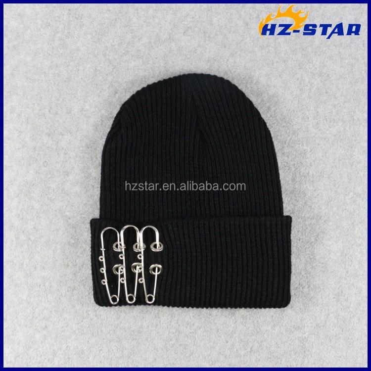 56a8abe5e3d HZM-16922006 blank beanies night helmet free men s knit hat pins custom