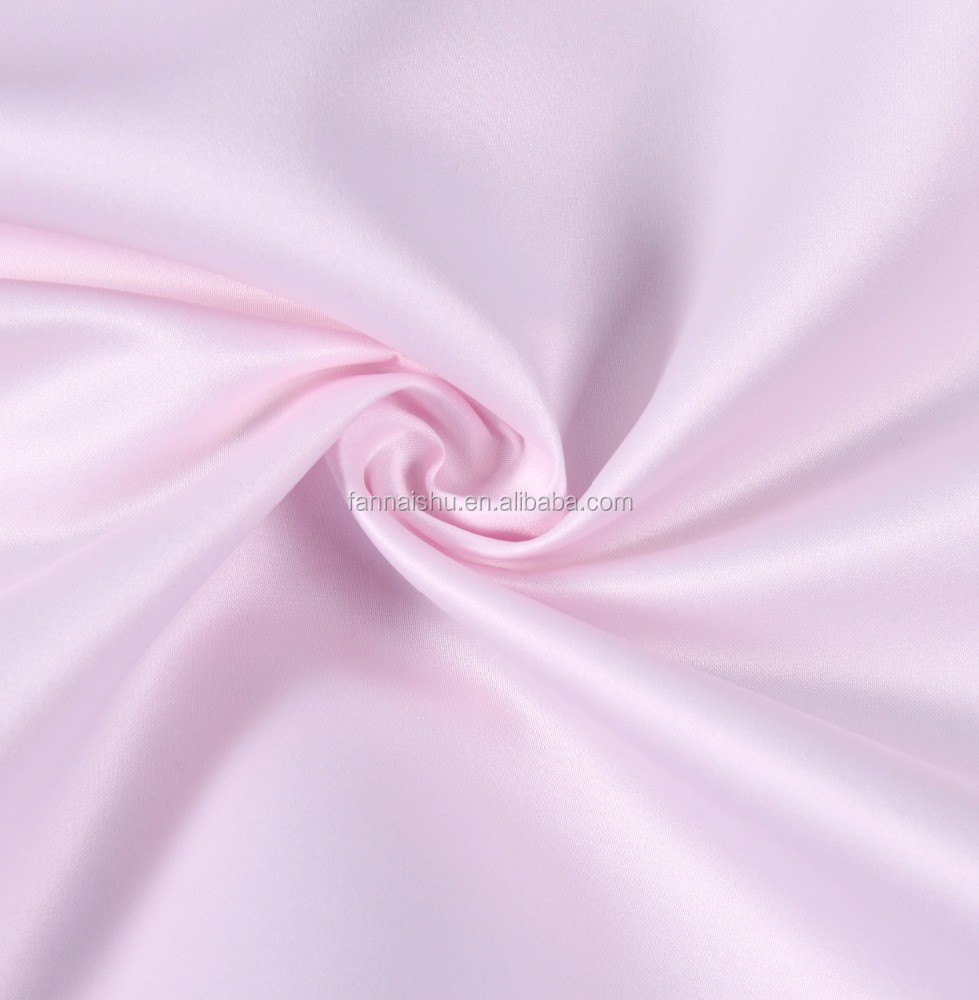 China suppliers 200d poly 100% polyesterl Satin fabric for Dress