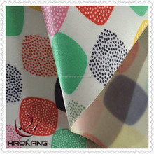 Pvc Coated Satin Fabric With Printing Design