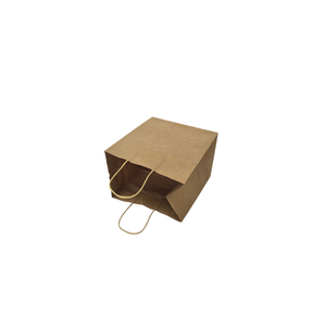 Custom Logo Printing Recycled Kraft Paper Bag Gift Shopping Bag