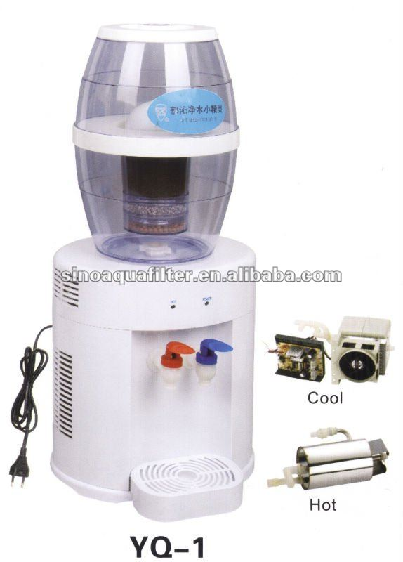 water mineral pot within cool and heat system YQ-1