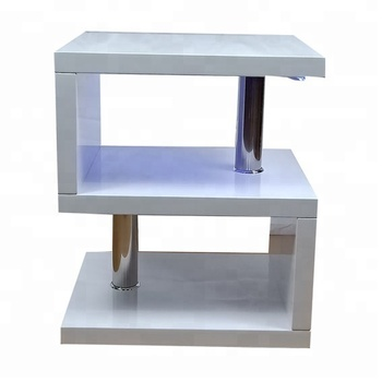 Mdf High Gloss White Led Side Table Coffee Table Buy Mdf Coffee Tableled Tableside Table Product On Alibabacom