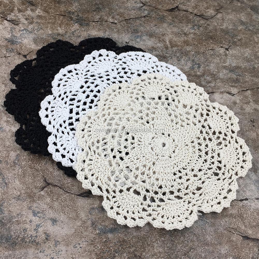 Encuentre el mejor fabricante de tapetes blancos de crochet y ...