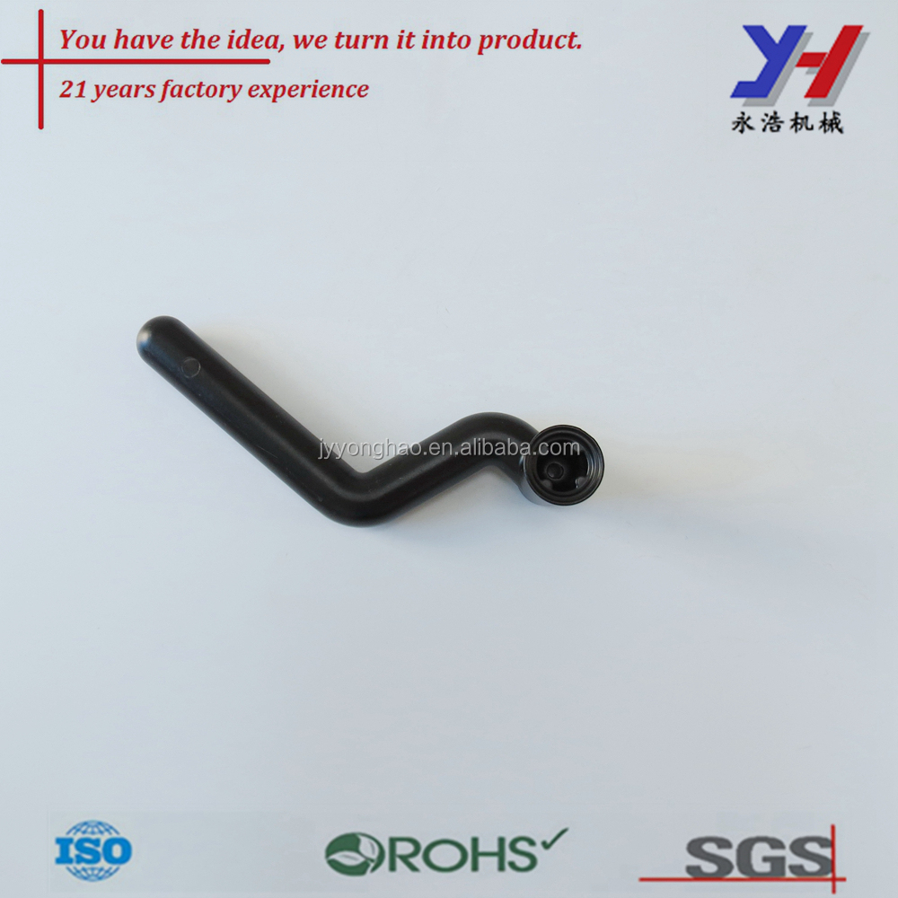 OEM ODM customized Chinese aluminum door and window handle of black coated