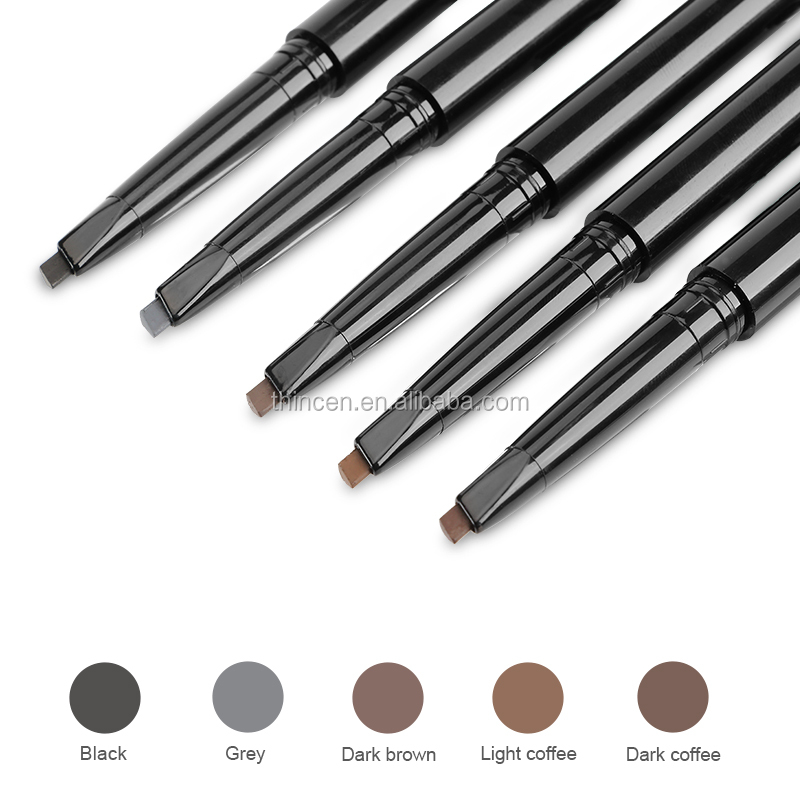 Best Selling Products Wholesale Permanent 5 Colors Waterproof Eyebrow Pencil