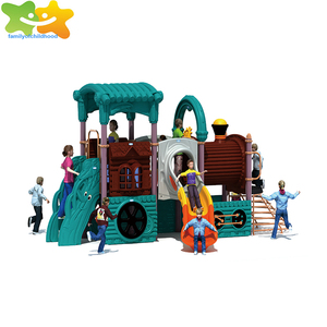 Guangzhou pirate ship residential kids outdoor playsets