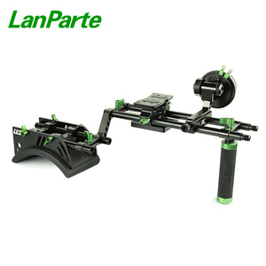 LanParte 15mm Rods DSLR Camera Shoulder Rig