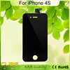 New One Sales MOQ 1piece 3.5inch A++ Touch Screen Black Color For iPhone 4S LCD Replacement