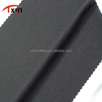 Tongxin Textile 100 polyester sports wear fabric silk flannelette 185 GSM polyester brushed fabric