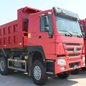 High quality used howo 6x4 dump truck left hand drive Mining tipper truck dump truck for sale