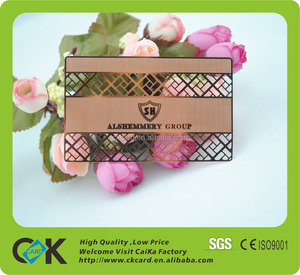 Nice quality metal card making with competitive price