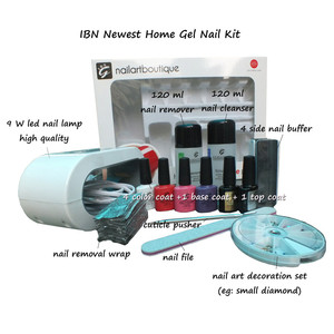 top quality manicure set nail gel uv nail lamp/uv lamp for nail dry