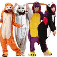 Various funny animal onesie adult well-made warm thick flannel winter animal onsies adult onesie