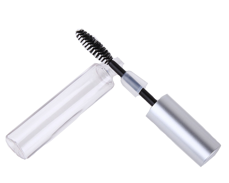 4cd816e6936 Get Quotations · Cool2day 15pcs 10ml Empty Mascara Tube Eyelashes Cream Tube  Vials Bottle,DIY Container Mascara Brush